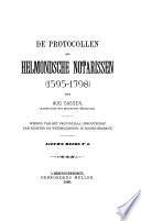 De protocollen der Helmondsche notarissen (1595-1798)