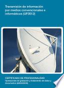UF0512   Transmisi  n de informaci  n por medios convencionales e inform  ticos