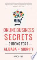Online Business Secrets  2 Books for 1