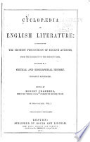 Cyclopaedia of English Literature