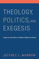 Theology, Politics, and Exegesis