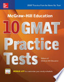 McGraw Hill Education 10 GMAT Practice Tests