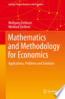 Mathematics and Methodology for Economics