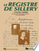 illustration Le Registre de Sillery, 1638-1690