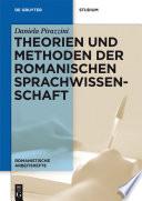 Theorien und Methoden der romanischen Sprachwissenschaft