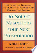 Do Not Go Naked Into Your Next Presentation