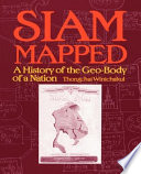 Siam Mapped book