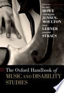Ebook The Oxford Handbook of Music and Disability Studies Epub Stephanie Jensen-Moulton,Joseph Straus,Neil Lerner Apps Read Mobile