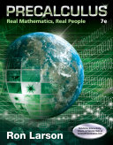 Precalculus: Real Mathematics, Real People