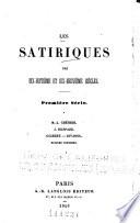 Les satiriques des dix-huitième et dix-neuvième siècles