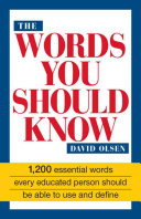 Book The Words You Should Know