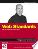 Web Standards Programmer S Reference