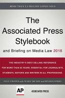 Book The Associated Press Stylebook 2018