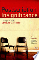 Postscript on Insignificance