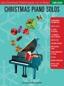 Christmas Piano Solos   Third Grade