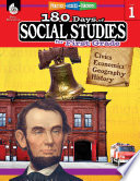 180 Days Of Social Studies For First Grade