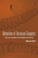 Detention Of Terrorism Suspects book