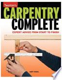 Taunton s Carpentry Complete