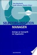 Selbstorganisation managen