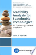 Feasibility Analysis for Sustainable Technologies