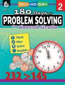 180 Days of Problem Solving for Second Grade  Grade 2