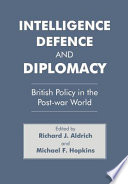 Intelligence  Defence  and Diplomacy