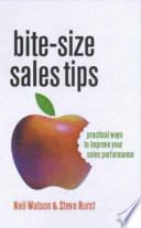 Bite size Sales Tips