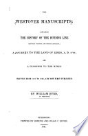 The Westover Manuscripts  Containing the History of the Dividing Line Betwixt Virginia and North Carolina Book PDF