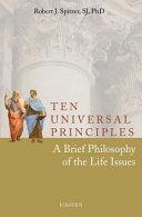 Ten Universal Principles