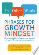 In Other Words  Phrases for Growth Mindset