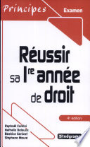 R  ussir sa 1re ann  e de droit