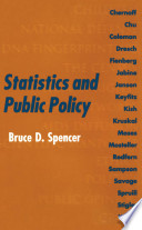 Statistics and Public Policy