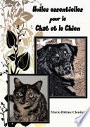 illustration du livre Huiles essentielles pour le chat et le chien