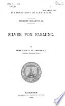 Silver Fox Farming Can Be And In Fact