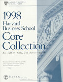 Harvard Business School Core Collection