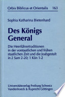 Des Königs General