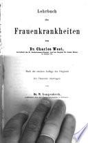 Lehrbuch der Frauenkrankheiten