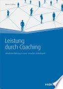 Leistung durch Coaching