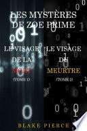 Coffret Les Enquêtes de Zoe Prime : Le Visage de la Mort (Tome 1) & Le Visage du Meurtre (Tome 2)