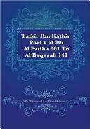 Tafsir Ibn Kathir Juz  1  Part 1
