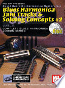 Blues Harmonica Jam Tracks Soloing Concepts 2