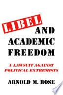Libel and Academic Freedom