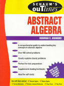 Scham s Outline of Abstract Algebra
