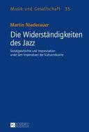 Die Widerstndigkeiten des Jazz
