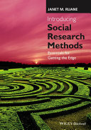 Introducing Social Research Methods