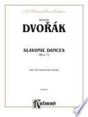 Slavonic Dances  Op  72