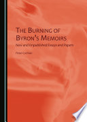 The Burning of Byron   s Memoirs