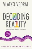 download ebook decoding reality pdf epub