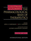 Goodman   Gilman s the Pharmacological Basis of Therapeutics