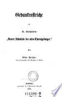 """Gedankenstriche zu S. Stehlin's: """"Neuere Schicksale des alten Choralgesanges"""""""